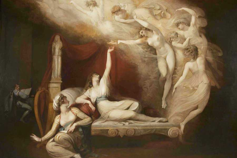 The Vision of Catherine of Aragon by Henry Fuseli