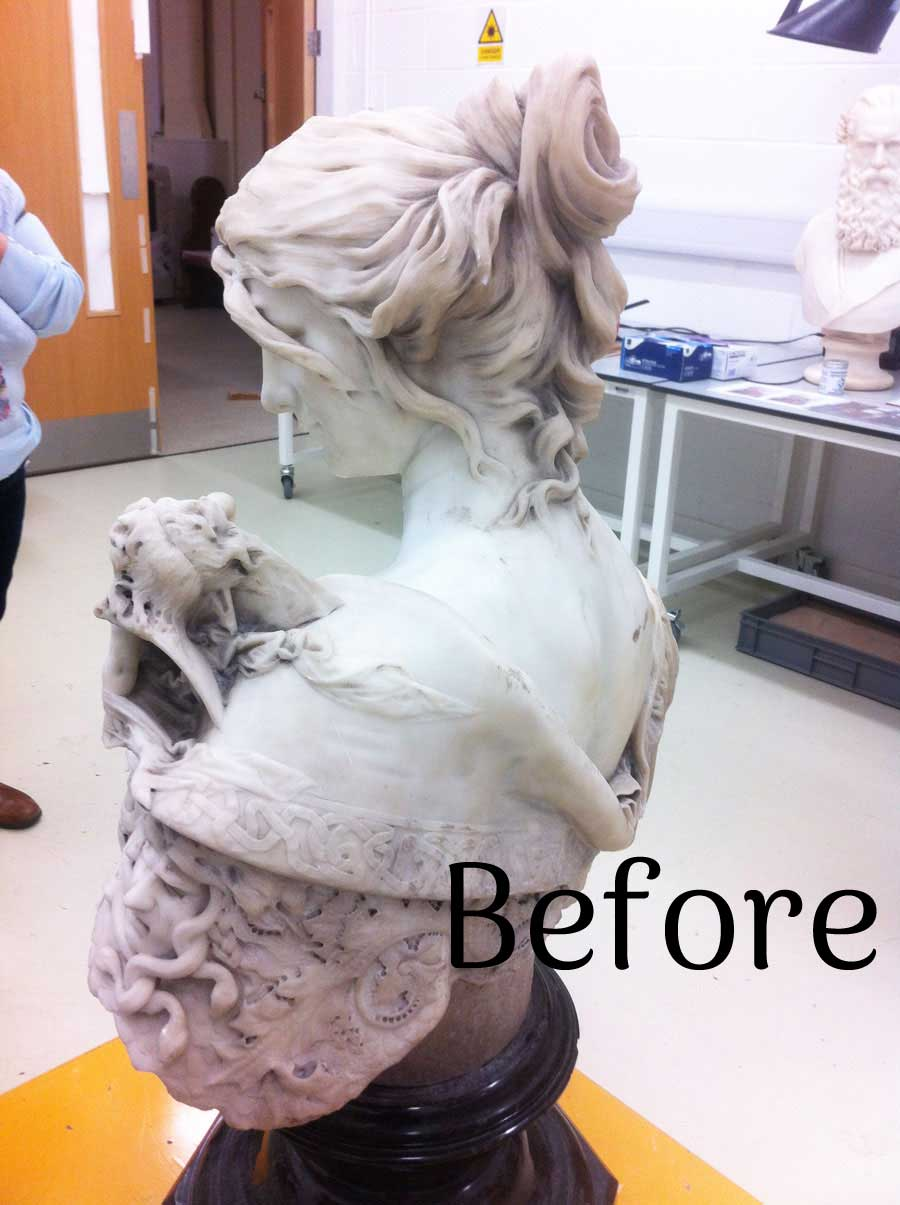 Alcina before conservation