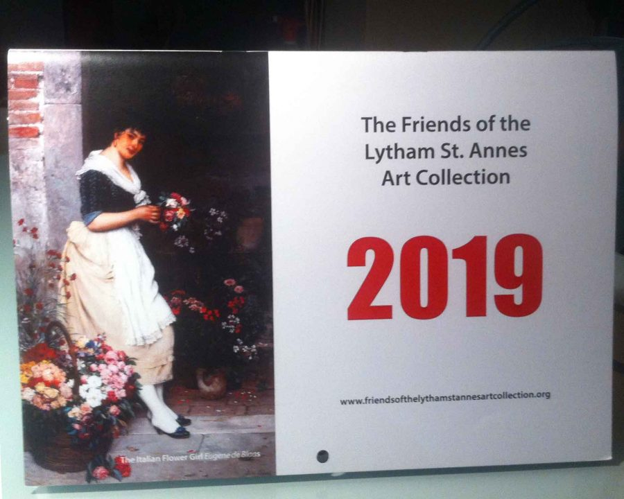 2019 Friends of the Lytham St Annes Art Collection Calendar is on sale now!