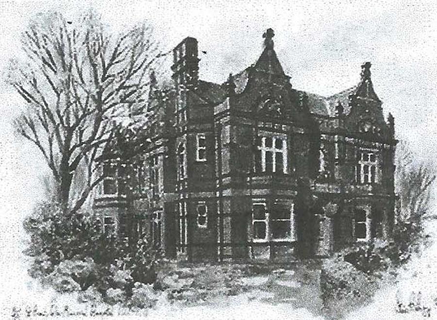 St Annes War Memorial Hospital 1921-1922 Rodbury, Steve - 1996 limited edition print 31/50