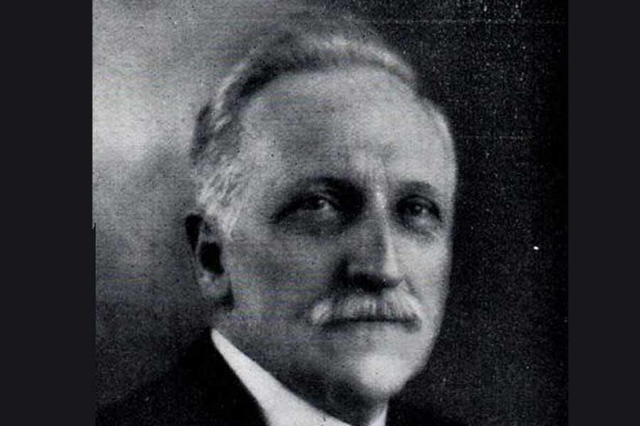 Poster: 82 Years Ago. Alderman James H Dawson (1867-1963)