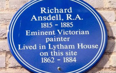 Blue Plaque: Richard Ansdell (1815-1885) – Lytham House London