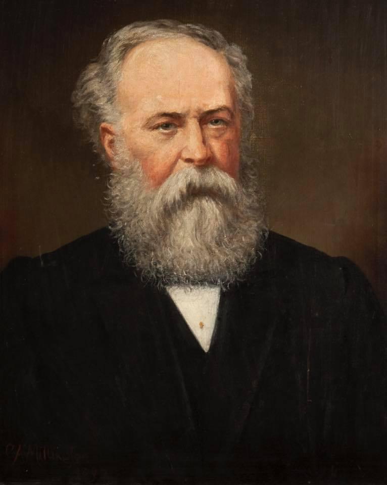 Portrait: William John Porritt (1828-1896) by Caroline Alce Millington (1853-1935)
