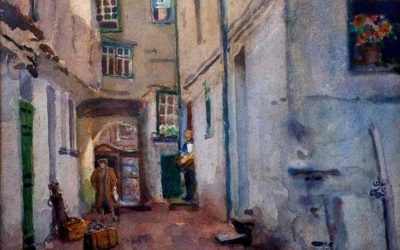 Featured Artist With Strong Links To The Fylde: Fred Balshaw (1860-1936)