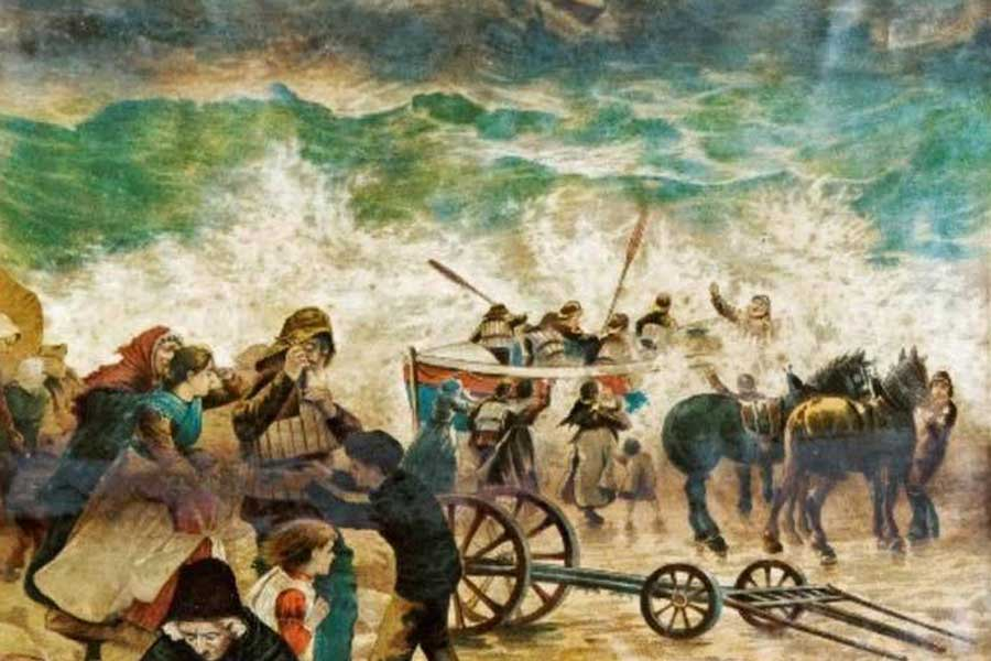 Cropped image of The Mexico Disaster of 1886