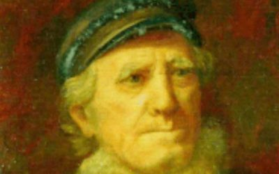Where Is This Oil Painting of Thomas Clarkson, Lytham Lifeboat Coxwain in The Mexico Disaster?