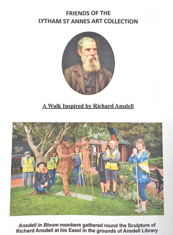 A Walk Inspired by Richard Ansdell - front cover
