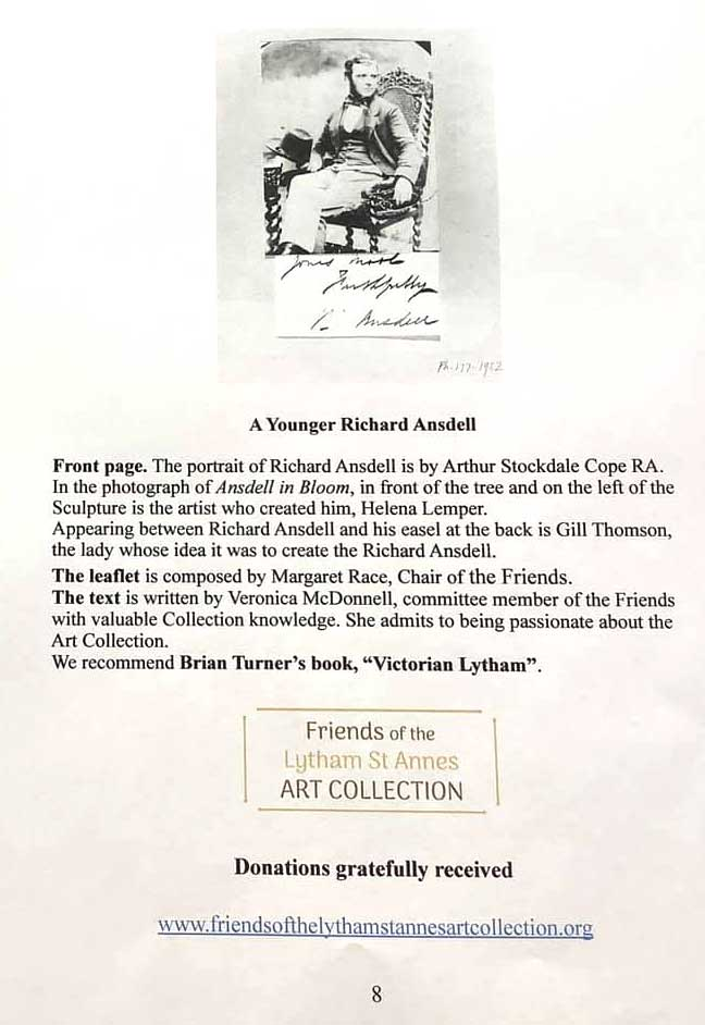 A Walk Inspired by Richard Ansdell - back cover